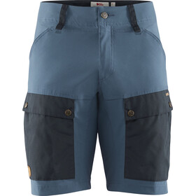 Fjällräven Keb Shorts Heren, dark navy/uncle blue